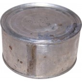 Original pre WW2 Red Army meat ration, stewed beef tin with original content