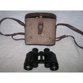 Soviet binocular case early post war made with soviet binocular. Espenlaub militaria