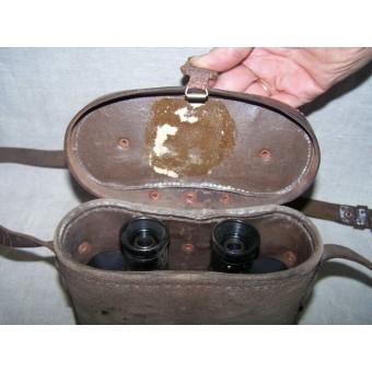Soviet binocular case early post war made with soviet binocular