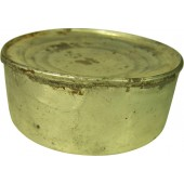 Original pre WW2 Red Army meat ration, liver pate tin. Marked