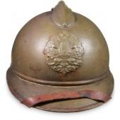 M 15 Russian Czarist Adrian helmet.