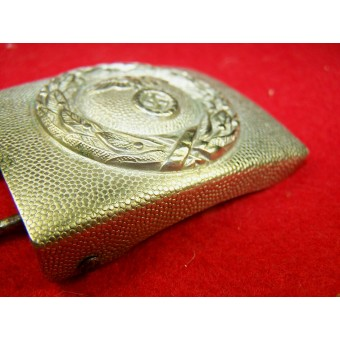 RLB white brass/ nickel buckle.. Espenlaub militaria
