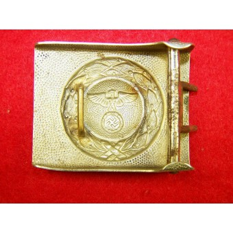 RLB white brass/ nickel buckle.. Espenlaub militaria