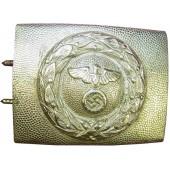 RLB white brass/ nickel buckle.
