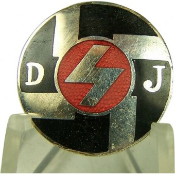 Deutsche Jugend members badge, early. Espenlaub militaria