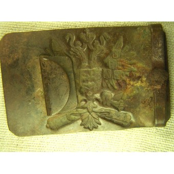 Imperial Russian artillery enlisted personnel buckle. Espenlaub militaria