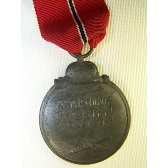 Medal for winter campaign in Russia 1941-42 year. Espenlaub militaria
