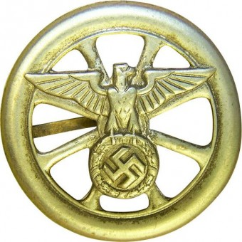 NSKK early type brass sleeve driver's badge