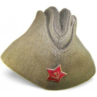 RKKA pilotka side cap made by Robert Lubstein, 1948.. Espenlaub militaria