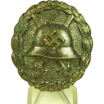 Spanish war black wound badge. Espenlaub militaria