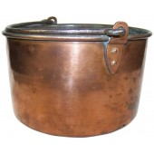 Imperial Russian round, cooper mess kit, M 1883