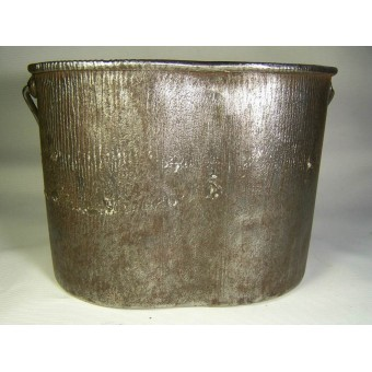 Imperial Russian steel M 1914 mess tin, has stamp.. Espenlaub militaria