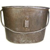 Imperial Russian steel M 1914 mess tin, has stamp.
