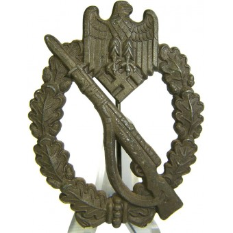 Infanterie Sturmabzeichen, Infantry Assault badge counter relief. Espenlaub militaria