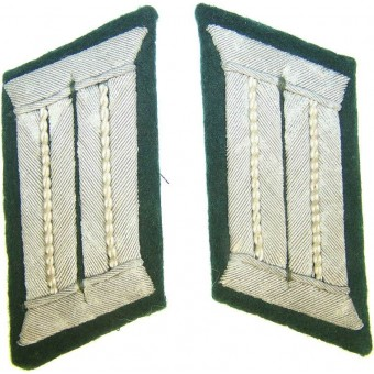 Officer's collar tabs Infantry tunic removed. Espenlaub militaria