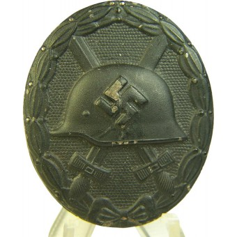 Wound badge , black, steel. Espenlaub militaria