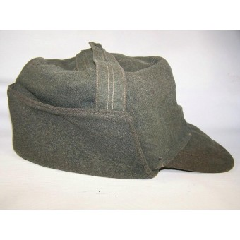 WW2 German trench made hat, The frontline issue!. Espenlaub militaria