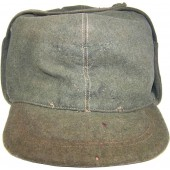 WW2 German trench made hat, The frontline issue!