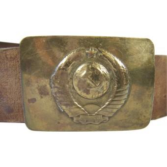 M 47 Militia completed belt and buckle. Espenlaub militaria