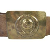 M 47 Militia completed belt and buckle
