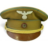 First type NSDAP Ortsleiter level visor hat. Marked with RZM tag.