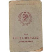 1920-s era Red Army pay book