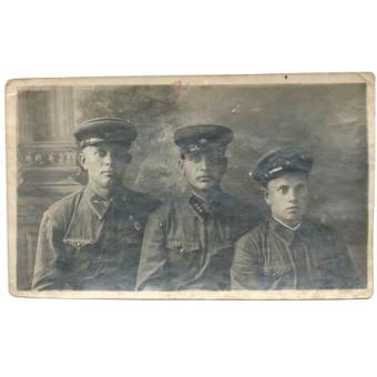Red Army armored crew photo. Espenlaub militaria