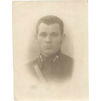 Red Army medical lieutenant  personal photo. Espenlaub militaria