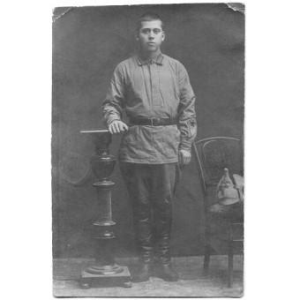 Red Army soldier, February 1925 year. Espenlaub militaria