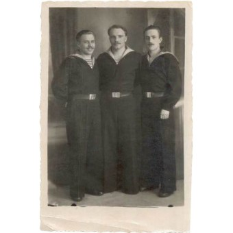 Red Fleet prewar issued picture of a coastal artillery personnel. Espenlaub militaria