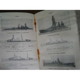 Reference-book: Foreign battle ships-1936. Espenlaub militaria