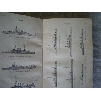 Reference-book: Foreign battle ships-1936 year. Espenlaub militaria