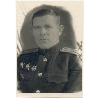 WW2 guards captain of 3 rank of naval infantry.. Espenlaub militaria