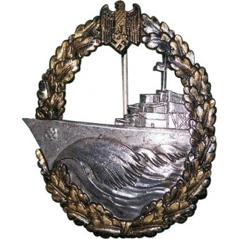 Destroyer War Badge. Buntmetall. Espenlaub militaria