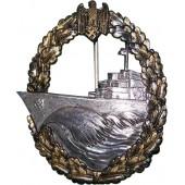Destroyer War Badge. Buntmetall