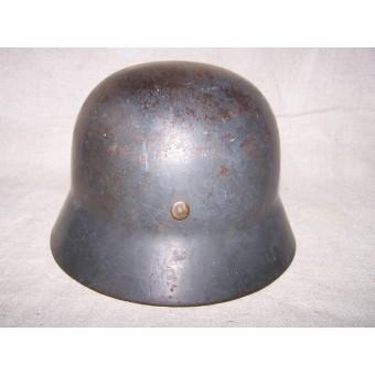 German helmet M 35 , double decal steel helmet, SE64. Espenlaub militaria