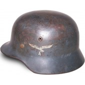 German helmet M 35 , double decal steel helmet, SE64