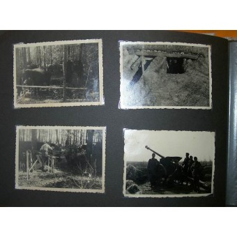 WW2 Gebirgsjaeger album with pictures. Mostly Eastern front. Espenlaub militaria
