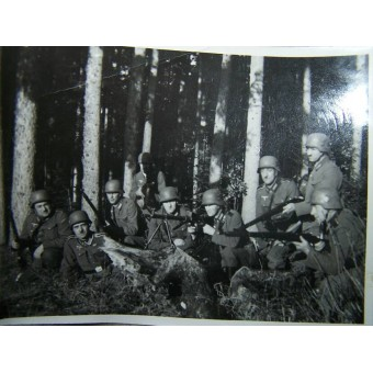 German album belonged to KIA transportation troop soldier. Espenlaub militaria