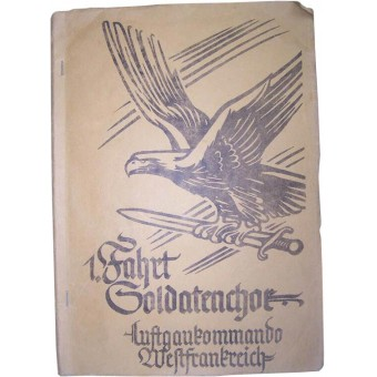 Luftwaffe Soldiers album-diary, belonged to the Musician of Luftwaffengaukommando. Espenlaub militaria