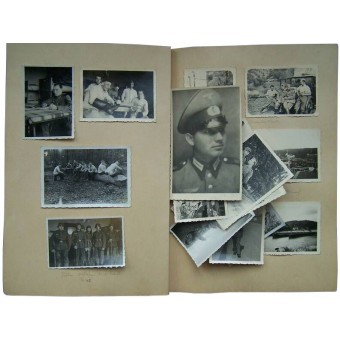 Photoalbum of wehrmacht soldier. Espenlaub militaria