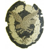 Cloth embroidered type of Luftwaffe Bord Schuetze- Beobachter abzeichen