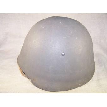 Danish M 23 helmet in camo paint. Espenlaub militaria