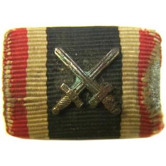 KVK with crosses ribbon bar, salty. Espenlaub militaria