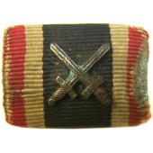 KVK with crosses ribbon bar, salty