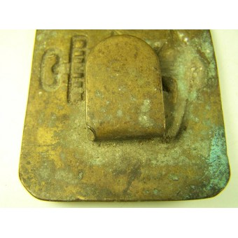 Soviet Navy brass buckle, early post. Espenlaub militaria