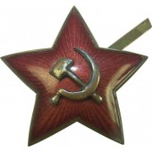 Red Army visorhat M 35 star cockade