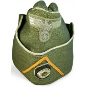 Wehrmacht Heer officiers, side hat for Feldgendarmerie/ Wehrsatz troops