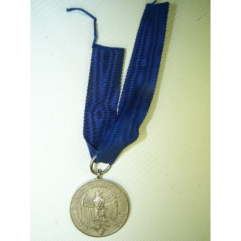 4 Years of the service in the Wehrmacht medal. Espenlaub militaria
