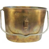 Imperial Russian cooper mess tin, marked!